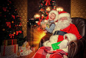 Santaclaus man — Stock Photo