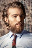 Fashion on beards — Stock Photo