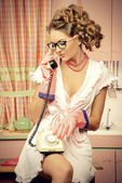 Kitchen talking — Photo