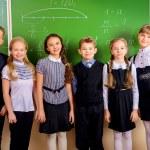 Uniform teenagers — Stock Photo #60007723