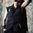 Metal singer — Stock Photo #60450887