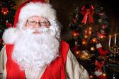 Homey santa — Stock Photo