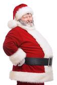 Fat santa — Stock Photo