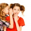 Girls whispering — Stock Photo #61676915