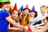 Cheerful kids — Stock Photo