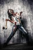 Satan zombie — Stock Photo
