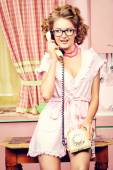 Phone to friend — Photo