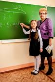 Explain teacher — Stock Photo