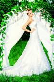 Graceful bride  — Stock Photo