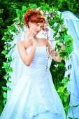 Luxurious bride — Stock Photo
