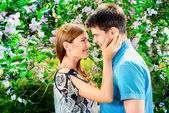 Tender touch — Stock Photo