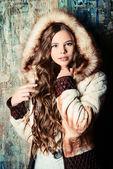 Winter child — Stock Photo