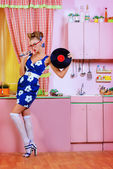 Classic pin-up — Stock Photo