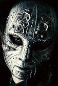 Iron mask — Stock Photo