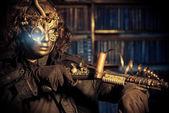 Steam mascarade — Stock Photo