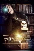 Crazy scientist — Stock Photo