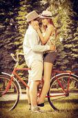 Sweet embraces — Stock Photo