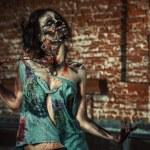 Walking zombi — Stock Photo #68532951