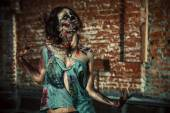 Walking zombi — Stock Photo