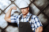 Reliable worker — Stock Photo