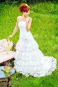 Romance of wedding — Stock Photo