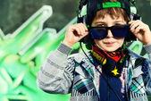 Cool childhood — Stock Photo