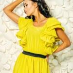 Yellow dress — Stock Photo #69556639
