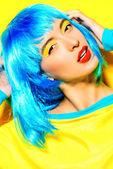 Sunny make-up — Stock Photo