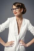 увлекательный девушка — Стоковое фото