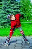 Roller skating — Stock Photo