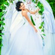 Make-up for bride — Stock Photo #70669041