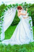 赤毛の花嫁 — ストック写真