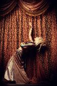 Tribal dance — Stock Photo