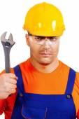 Adjustable wrench — Stock Photo
