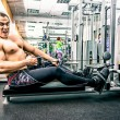 Tense muscles — Stock Photo #78362980
