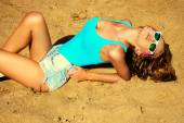 Hot sand — Stock Photo