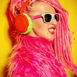 Flashy DJ — Stock Photo #78940956