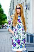 Stylish woman — Stock Photo