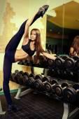 Stretching legs — Stock Photo