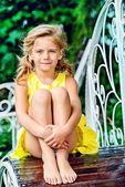 Summer kid — Stock Photo