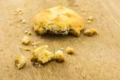 Cookies en madera — Foto de Stock