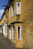 Street in chipping campden cotswolds — Stock Photo