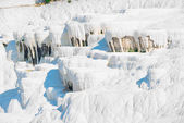 Parched basins of Pamukkale in Turkey — Stock Photo