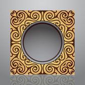 Elegant frame design — Stock Vector