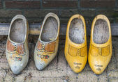 Wooden shoe — Stock Photo