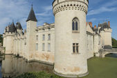 Castle Chateau Dissay France — Stock Photo