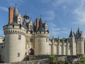 Chateau Castle Dissay France — Stock Photo