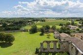 Monastery in La sauve Gironde — Stock Photo