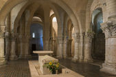 Crypt in Church in Saintes France — Stock Photo