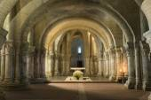 Crypt in Saintes France — Stock Photo